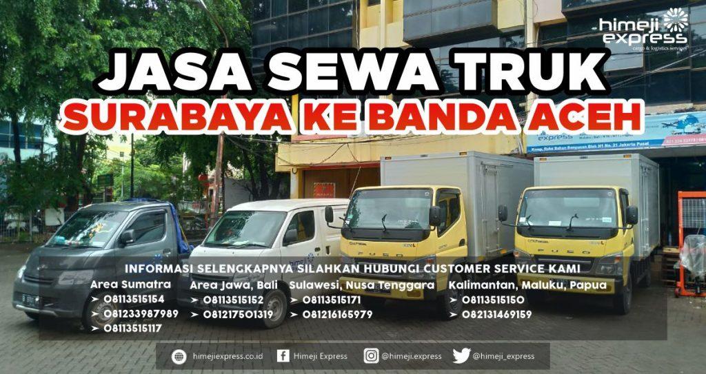 Jasa Sewa Truk dari Surabaya ke Banda Aceh
