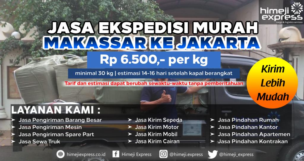 Ekspedisi Makassar Jakarta