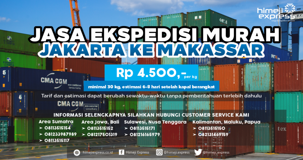 Ekspedisi Jakarta Makassar