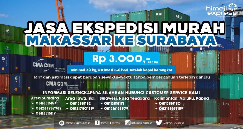 Ekspedisi Makassar ke Surabaya