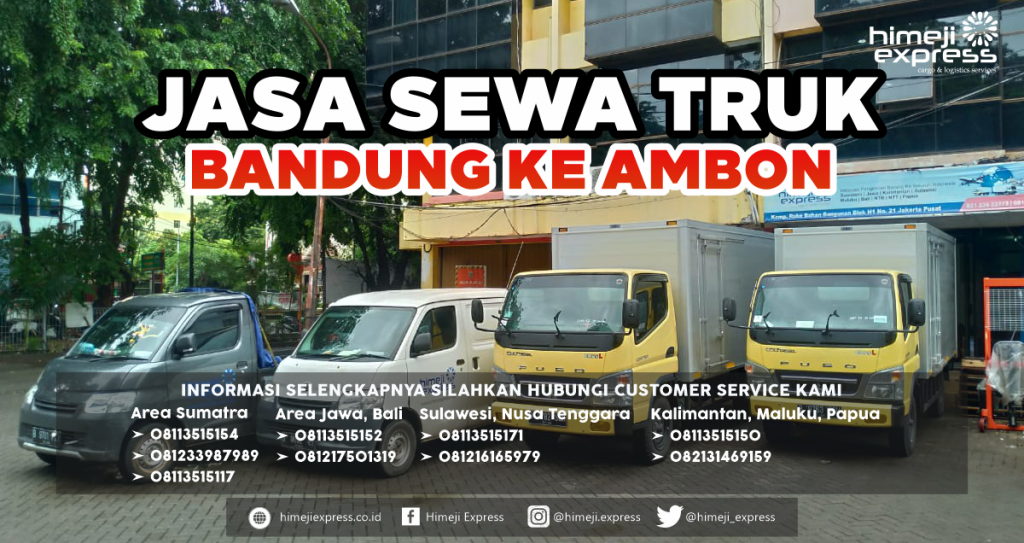 Jasa Sewa Truk dari Bandung ke Ambon