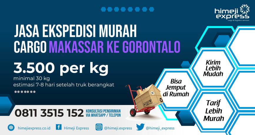 Jasa Ekspedisi Makassar ke Gorontalo