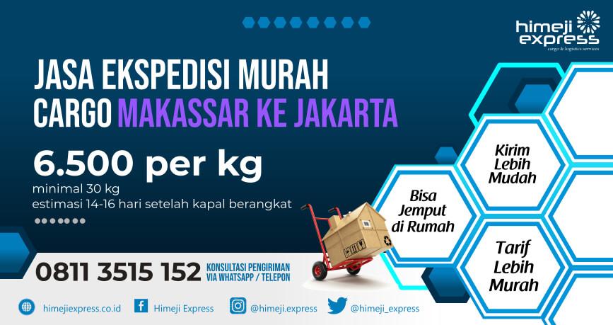 Jasa Ekspedisi Makassar ke Jakarta