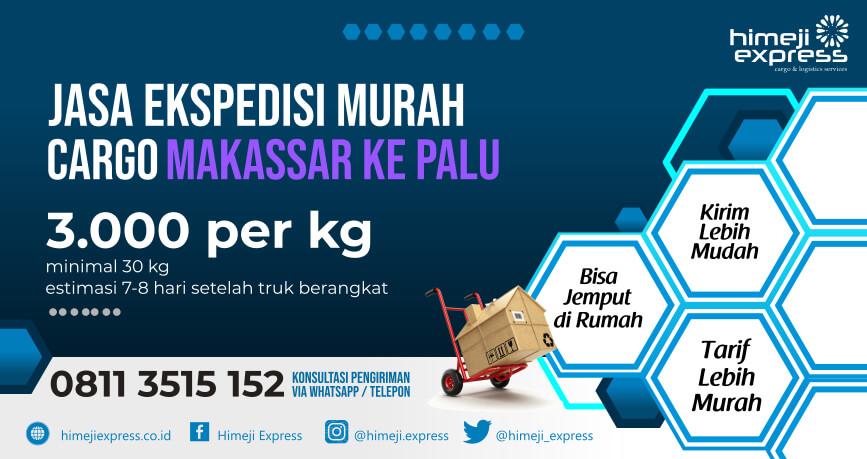 Jasa Ekspedisi Makassar ke Palu