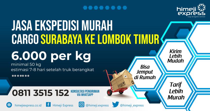 Jasa Ekspedisi Surabaya ke Lombok Timur