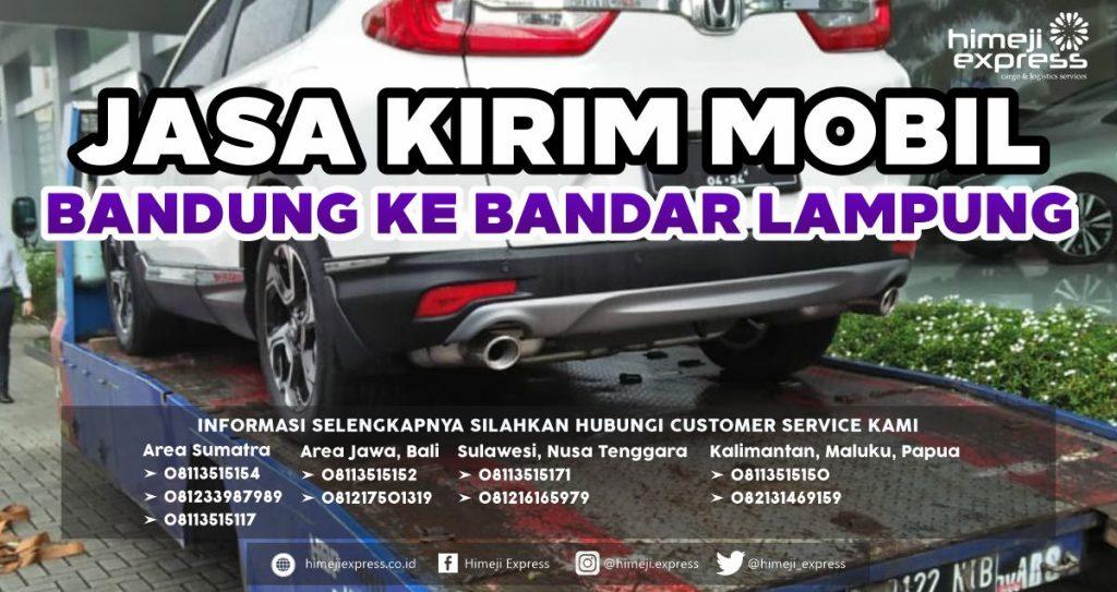 Jasa Kirim Mobil Bandung ke Bandar Lampung