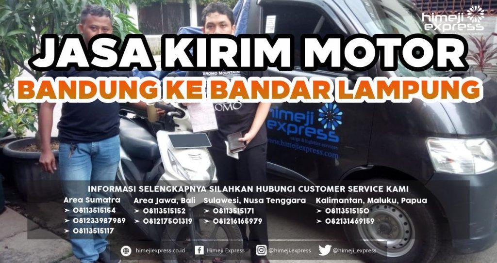 Jasa Kirim Motor Bandung ke Bandar Lampung
