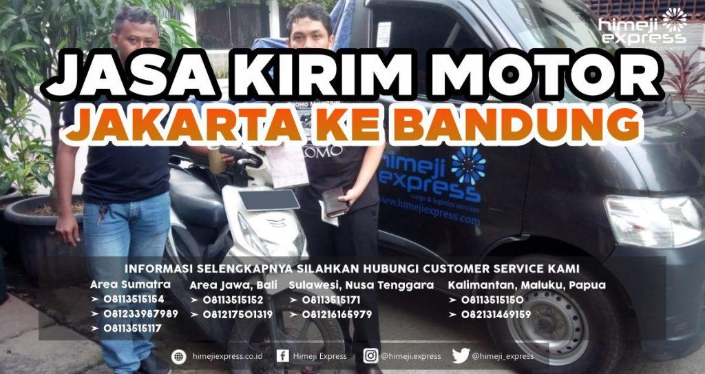 Jasa Kirim Motor Jakarta ke Bandung