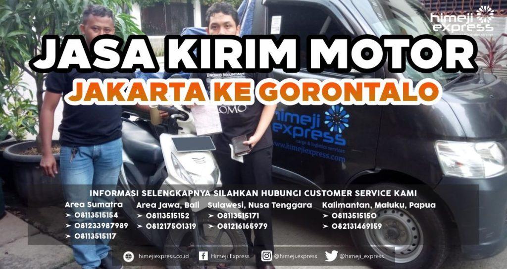 Jasa Kirim Motor Jakarta ke Gorontalo