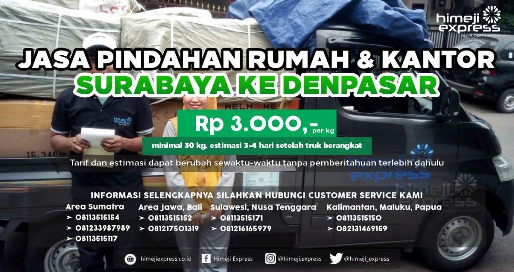 Jasa Pindahan dari Surabaya ke Denpasar