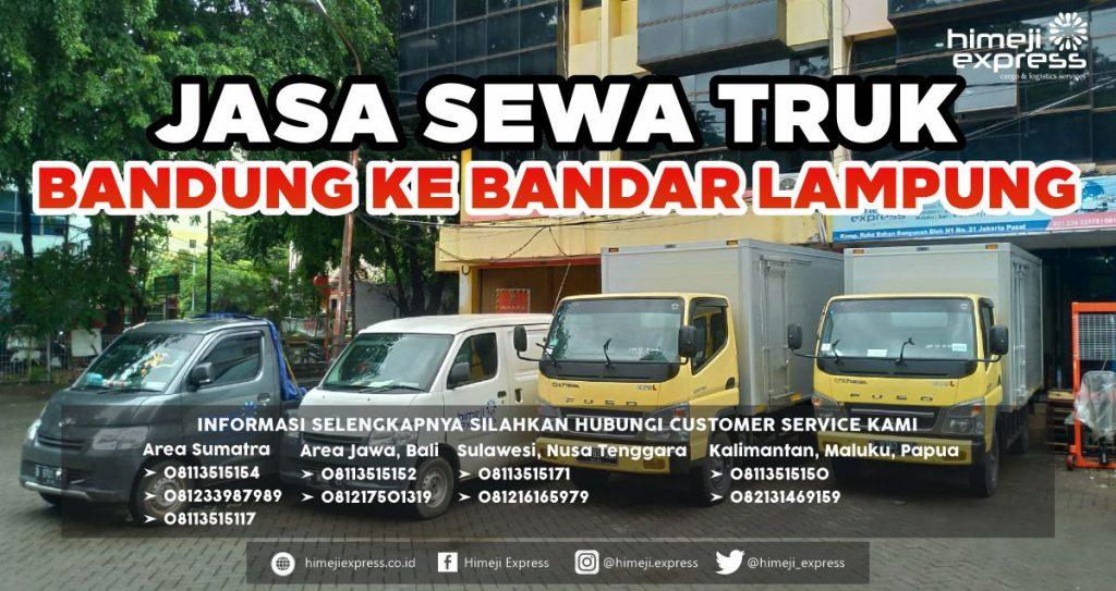 Jasa Sewa Truk Murah dari Bandung ke Bandar Lampung