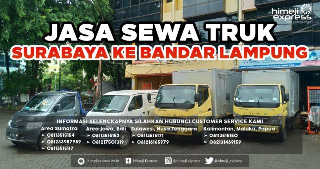 Jasa Sewa Truk dari Surabaya ke Bandar Lampung