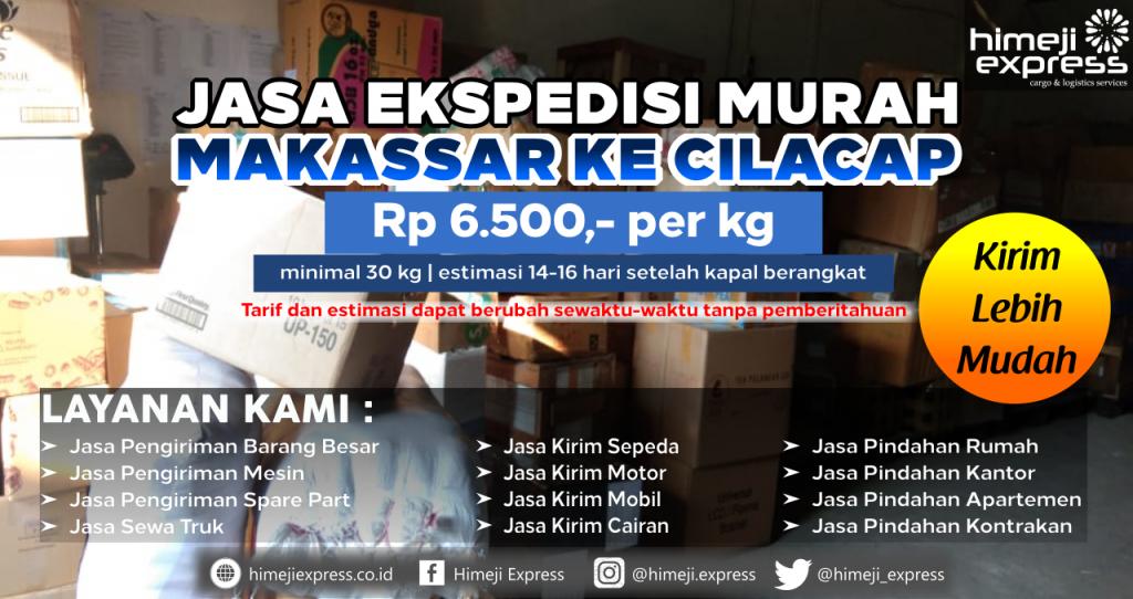 Cargo dari Makassar tujuan Cilacap