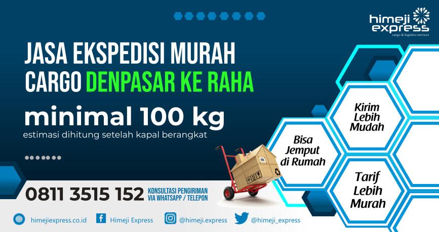 Jasa Ekspedisi Denpasar ke Raha