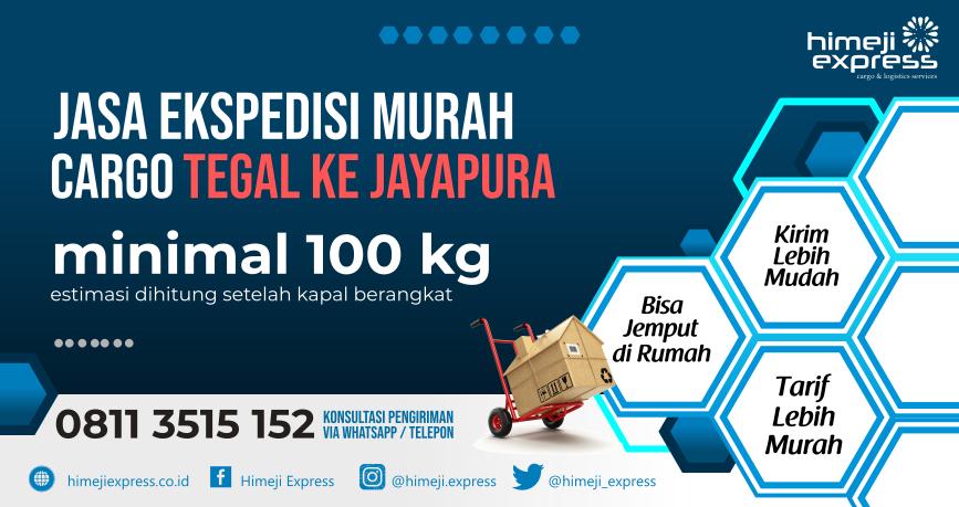 Jasa Ekspedisi Tegal ke Jayapura
