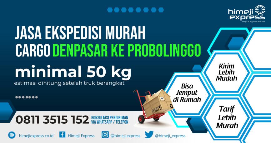 Jasa Ekspedisi Denpasar ke Probolinggo