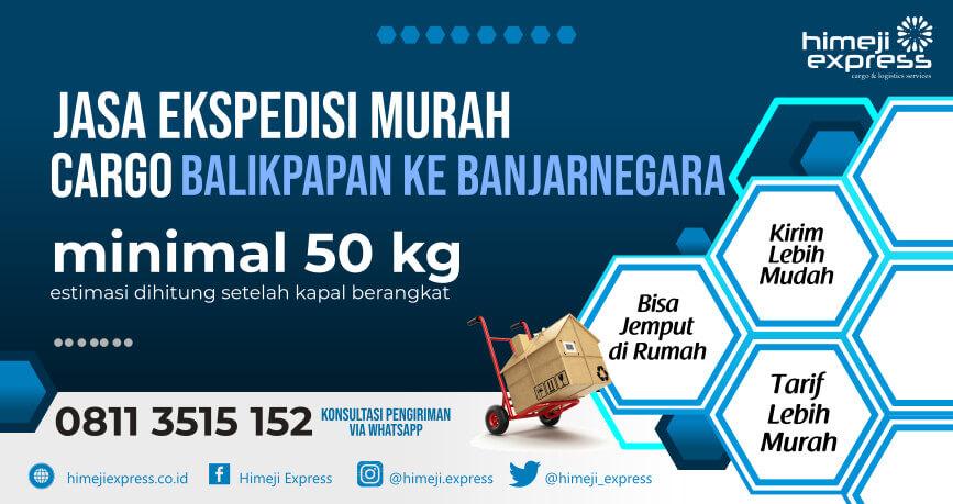 MURAH 08113515152 Jasa Ekspedisi Balikpapan ke Banjarnegara