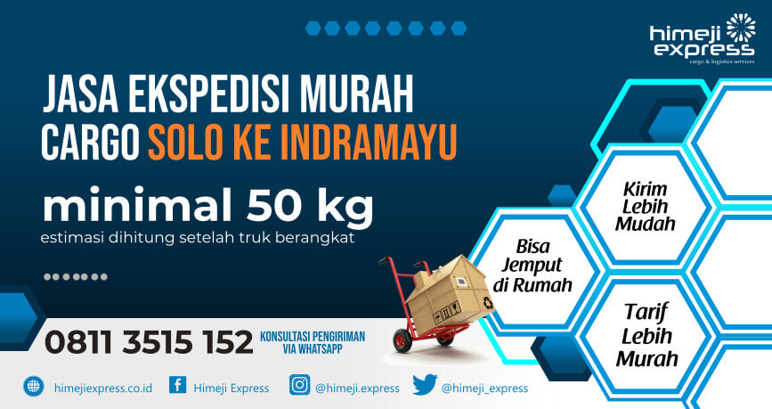 TARIF MURAH 08113515152 Jasa Ekspedisi Solo ke Indramayu